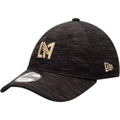 ニューエラ メンズ 帽子 アクセサリー LAFC New Era On-Field Collection 9TWENTY Adjustable Hat Black
