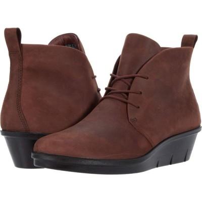 エコー ECCO レディース ブーツ チャッカブーツ シューズ・靴 Skyler Chukka Boot Chocolate