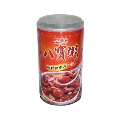 横浜中華街 泰山 八宝粥) 375g(缶)、さまざまな穀物が入る甘いお粥です(八宝粥)♪