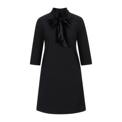 XT STUDIO ミニワンピース&ドレス ブラック S ポリエステル 95% / ポリウレタン 5% ミニワンピース&ドレス