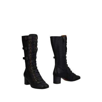クロエ CHLOÉ ブーツ ブラック 35 革 ブーツ