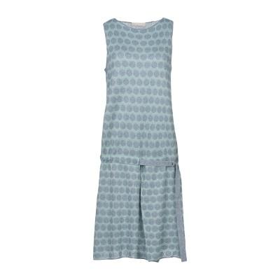 STEFANEL ミニワンピース&ドレス ライトグリーン L レーヨン 70% / ナイロン 15% / ポリエステル 15% ミニワンピース&ドレス