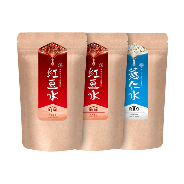 【雙料養顏組】纖Q紅豆水x2+薏仁水