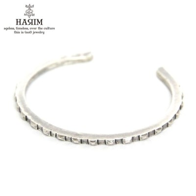 ハリム HARIM バングル nail heads bangle silver BANGLE HRA025SV 敬老の日 プレゼント