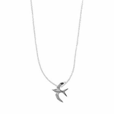 Boma Jewelry スターリングシルバー 折り紙 鳥 ネックレス 16インチ