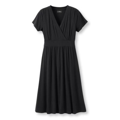 サマー・ニット・ドレス、半袖
