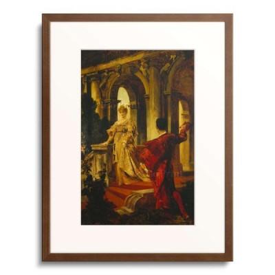ハンス・マカルト Hans Makart 「Romeo and Juliet at the staircase. About 1870」