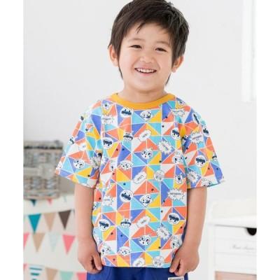tシャツ Tシャツ 三角総柄Tシャツ