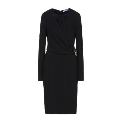 ブルマリン BLUMARINE ミニワンピース&ドレス ブラック 46 94% レーヨン 6% ポリウレタン ミニワンピース&ドレス