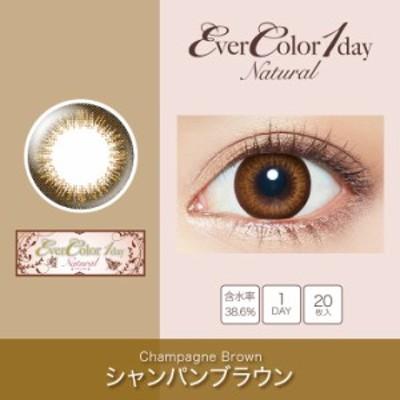 ワンデー カラコン レディース コンタクトレンズカラコン 度あり Ever Color 1day Natural OEO (エバーカラーワンデー ナチュラル) Cha