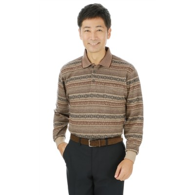 リブ衿ポロシャツ