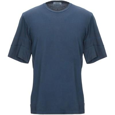 CROSSLEY T シャツ ブルー L コットン 100% T シャツ