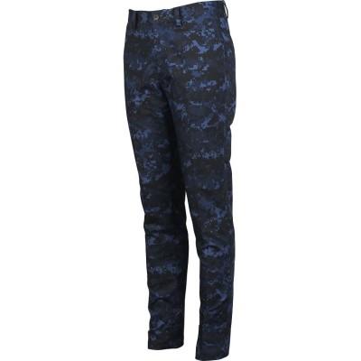 【マンシングウェア】 ツイルストレッチプリントパンツ メンズ ネイビー系 79 Munsingwear