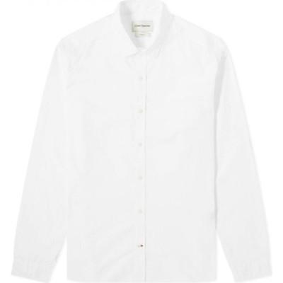 オリバー スペンサー Oliver Spencer メンズ シャツ トップス Eton Collar Shirt Abbott White