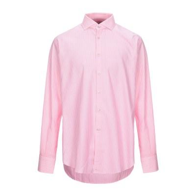 DEL SIENA シャツ ピンク 44 コットン 100% シャツ