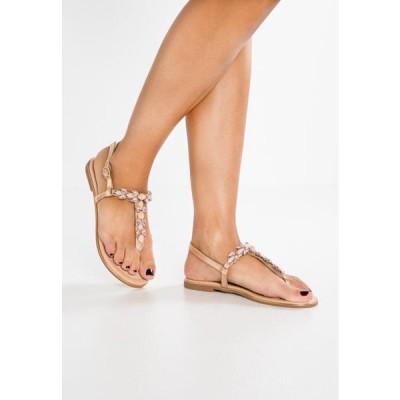 アンナフィールド レディース 靴 シューズ T-bar sandals - rose gold