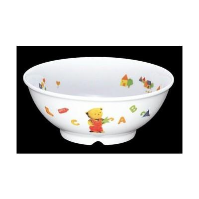 子供用食器 べあ〜(高強度磁器) 丸鉢 (115×47mm・250cc) 信濃化学/SHINCA[BE-11] 業務用 保育園・幼稚園向け