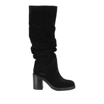 I-N - S-T-I-T-C-H-E-S ブーツ ブラック 35 革 ブーツ