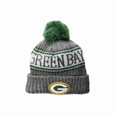 ニューエラ ニット Green Bay Packers Sport Knit Dark Grey