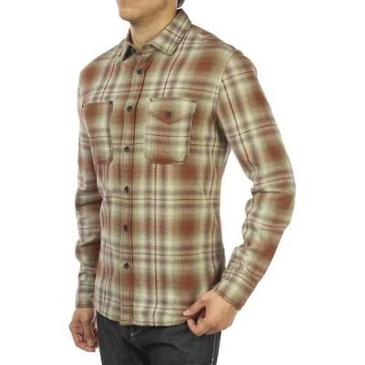 ジェレミア メンズ シャツ トップス Jeremiah Men's Justus Twist Yarn Brush Twill LS Shirt