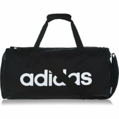 アディダス adidas メンズ ボストンバッグ・ダッフルバッグ バッグ Linear Medium Duffle Bag Black/White