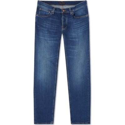 ヌーディージーンズ Nudie Jeans Co メンズ ジーンズ・デニム ボトムス・パンツ nudie grim tim jean Indigo Myth