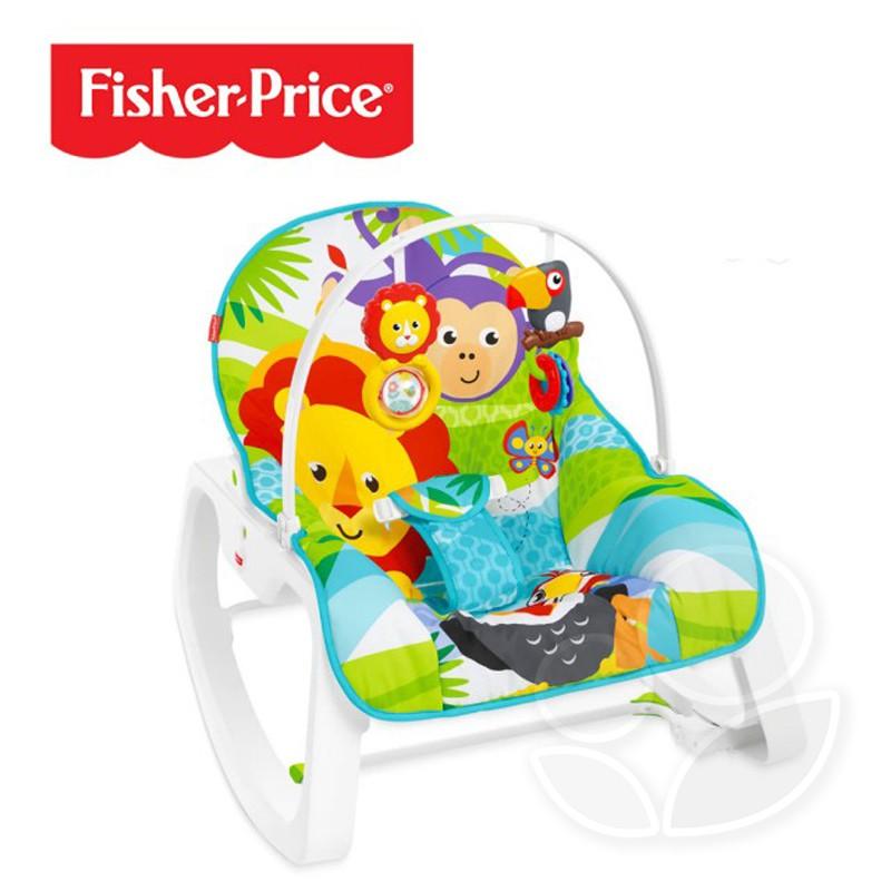 Fisher-Price 費雪 動物安撫躺椅【佳兒園婦幼館】