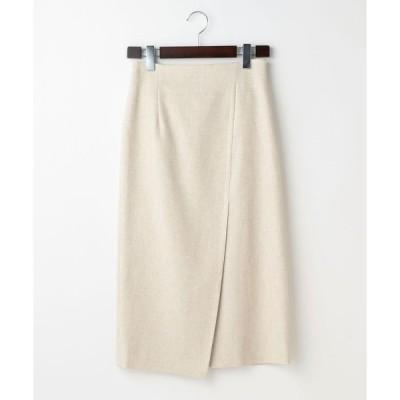 スカート martinique/ハイウエストマットクロスタイトスカート
