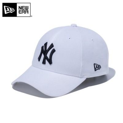 【メーカー取次】 NEW ERA ニューエラ 9FORTY ニューヨーク・ヤンキース ホワイトXブラック 12018968 キャップ メジャーリーグ【クーポン対象外】
