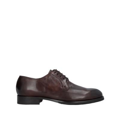 ブレコス BRECOS メンズ シューズ・靴 laced shoes Dark brown