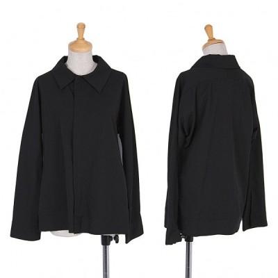 ワイズY's 裁ち切りウールギャバジャケット 黒3 【レディース】