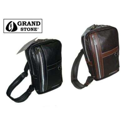 GRAND STONEグランドストーン キューブリックシリーズ ワンショルダーバッグ GSA973 ooty09