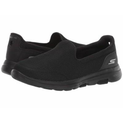 スケッチャーズ レディース スニーカー シューズ Go Walk 5 - 15901 Black