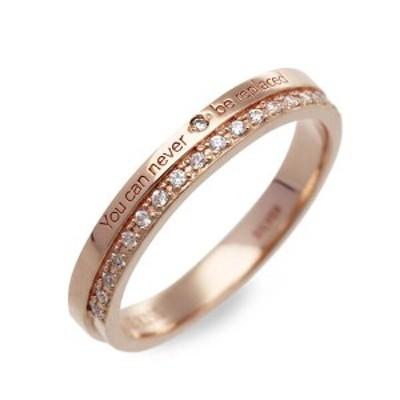 リング 指輪 レディース THE KISS シルバー ハート ダイヤモンド キュービックジルコニア 誕生日プレゼント ギフト