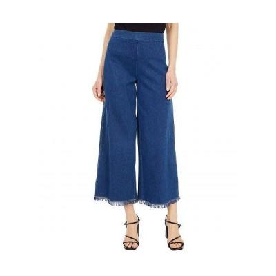 Lysse リセ レディース 女性用 ファッション ジーンズ デニム Shiloh Palazzo Lightweight Knit Denim - Mid Wash