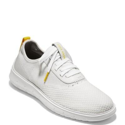 コールハーン メンズ スニーカー シューズ Men's Generation ZeroGrand Stitchlite Knit Sneakers Optic White