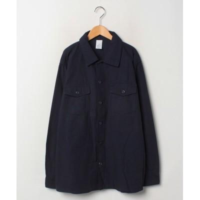【ザ ベアフット】 Military Shirts 40232 メンズ ネイビー XL THE BAREFOOT
