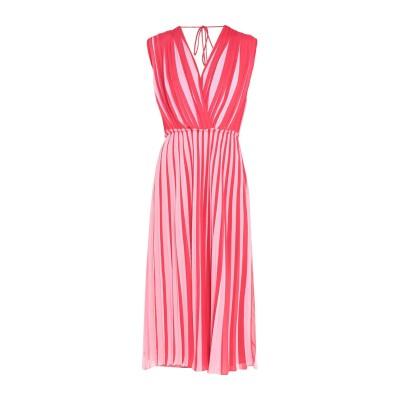 TOME 7分丈ワンピース・ドレス ピンク 2 ナイロン 100% 7分丈ワンピース・ドレス