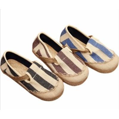 2021新作ローヒールエスニックチャイナシューズ痛くないカジュアル通気性抜群チャイナメイドコスプレ靴婦人靴スニーカーリネンスリッパ母