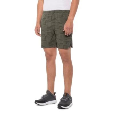 アシックス ASICS メンズ ランニング・ウォーキング ショートパンツ ボトムス・パンツ Reflective Stripe Running Shorts - 7 Smog Camo