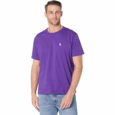 ユーエスポロアッスン U.S. POLO ASSN. メンズ Tシャツ トップス Crew Neck Small Pony T-Shirt Purple Prince
