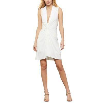 ビーシービージーマックスアズリア ワンピース トップス レディース Twist-Front Dress Off White
