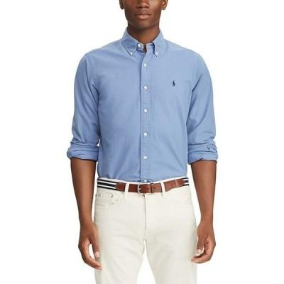 ラルフローレン メンズ シャツ トップス Big & Tall Solid Garment-Dye Oxford Long-Sleeve Woven Shirt