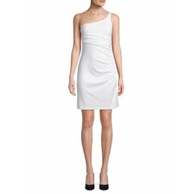 スサナモナコ レディース ワンピース Ruched One-Shoulder Dress