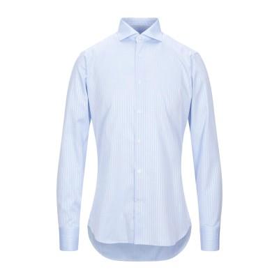 カリバン CALIBAN シャツ スカイブルー 39 コットン 100% シャツ