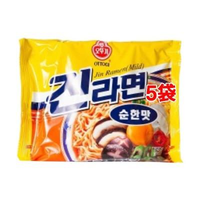 オットギ ジンラーメン 中辛 ( 120g*5袋セット )/ オットギ
