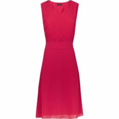 ジュームズ レイクランド James Lakeland レディース ワンピース ノースリーブ ワンピース・ドレス Textured Sleeveless Dress Fuchsia