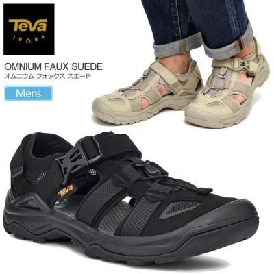 テバ Teva サンダル スニーカー メンズ オムニウムフォックススエード ブラック プラザトープ 25-29cm OMNIUM FAUX SUEDE 1116202