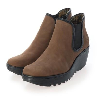 ヨーロッパコンフォートシューズ EU Comfort Shoes ショートブーツ (ブラウン)