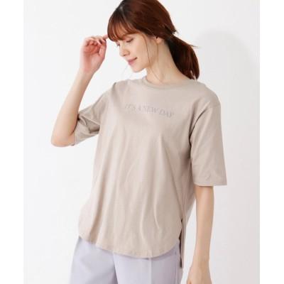 grove(グローブ) 【S-LL】前後ロゴプリントTシャツ